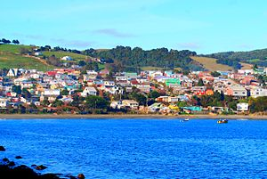 Ancud - Partial view of Ancud