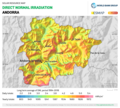 Andorra DNI Solar-resource-map GlobalSolarAtlas World-Bank-Esmap-Solargis.png