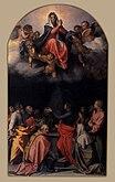 Andrea del Sarto - Assumption of the Virgin - WGA00400