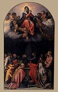 Wga andrea del Sarto assumption of the virgin