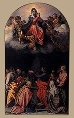 Andrea del Sarto - Assumption of the Virgin - WGA00400.jpg