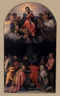 painting by Andrea del Sarto