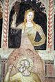 Andrea di bonaiuto, apotesosi di san tommaso d'aquino, scienze ed arti 05 Teologia e san Giovanni Damasceno 2.JPG