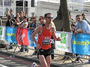Andrew Lemoncello - Andrew Lemoncello at the 2011 London Marathon
