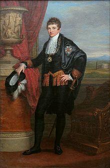 Ludwig I. von Bayern als Kronprinz, gemalt 1807 von Angelika Kauffmann (Quelle: Wikimedia)