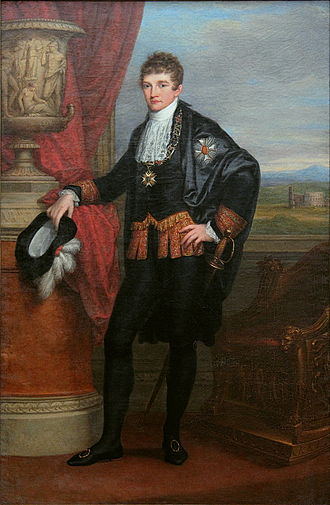 Ludwig I of Bavaria - Crown Prince Ludwig, 1807 by Angelica Kauffman