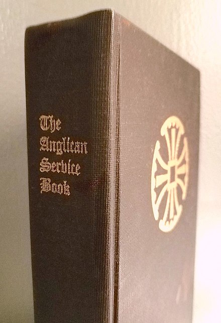 Anglo-Catholic Anglican Service Book (1991), a traditional-language version of the Episcopal Book of Common Prayer Anglican Service Book (1991).jpg