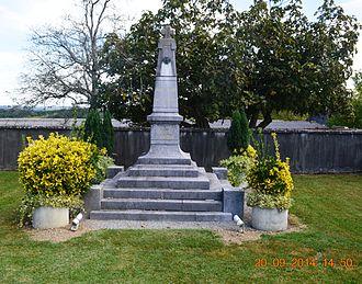 Angous - Angous War Memorial