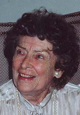 Ann Doran - Doran in her later years.