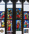 Annunciation and Adoration of the Magi, Stained Glass, Germany, 1290-1300 (3221364822).jpg