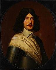Portrait of (probably) Charles de Bringues (circa 1630 - na 1676), commandant van Zwartsluis