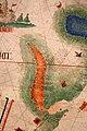 Anonimo portoghese, carta navale per le isole nuovamente trovate in la parte dell'india (de cantino), 1501-02 (bibl. estense) 13 mar rosso.jpg