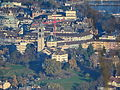 Ansicht vom Uetliberg auf den Hügel der Kirche Enge in Zürich 2013-11-27 15-22-12.JPG