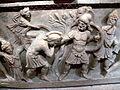 Antalya Museum - Sarkophag 5b Aphrodite verbirgt Paris.jpg