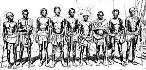 Antanosy people - Antanosy warriors, circa 1908