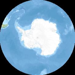 IslasGeorgiasdelSur ubicada en Océano Antártico