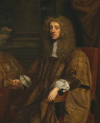 Whigs (British political party) - Anthony Ashley-Cooper (then spelt Ashley Cooper), 1st Earl of Shaftesbury, painted more than once during his chancellorship in 1672 by John Greenhill