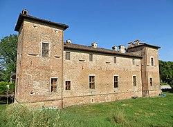 Antica Corte Pallavicina (Polesine Parmense) - facciata posteriore 2019-06-18.jpg