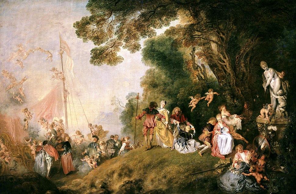 Antoine Watteau - L'imbarco per Citera