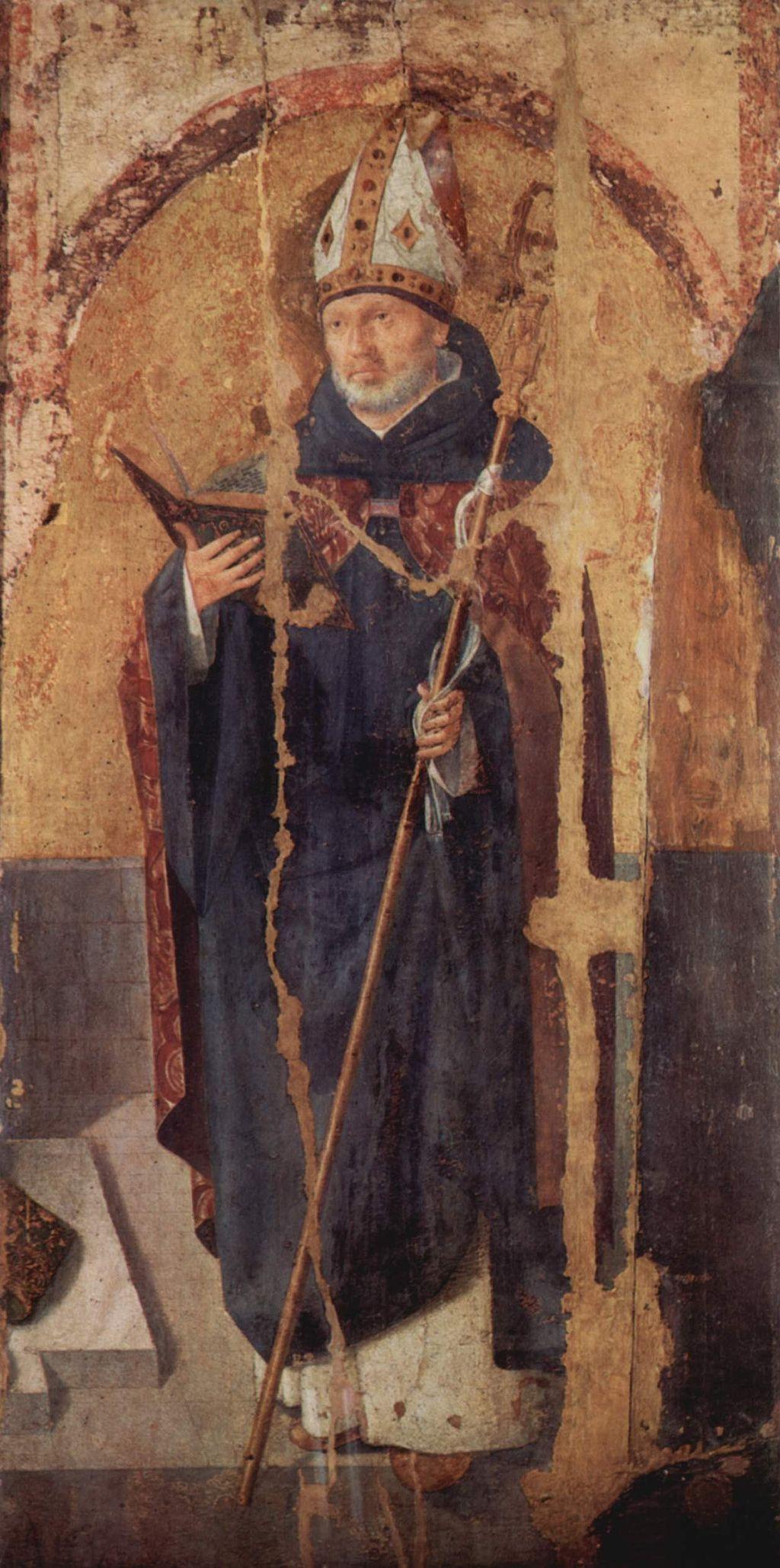 Antonello da Messina, Polittico di San Gregorio, San Benedetto, Messina, Museo Regionale