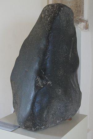 Kouklia - Stone representing Aphrodite found at Kouklia