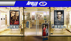 Apollo-Optik - Image: Apollo Optik Filiale