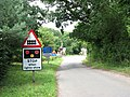 Approaching the level crossing on Church Road - geograph.org.uk - 1415638.jpg