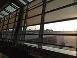 Apron from departure lobby of Chubu Centrair International Airport 20150125-4.JPG