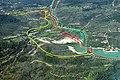 Aqueduc de Fréjus schéma des différents branches autour de Fondurane.jpg
