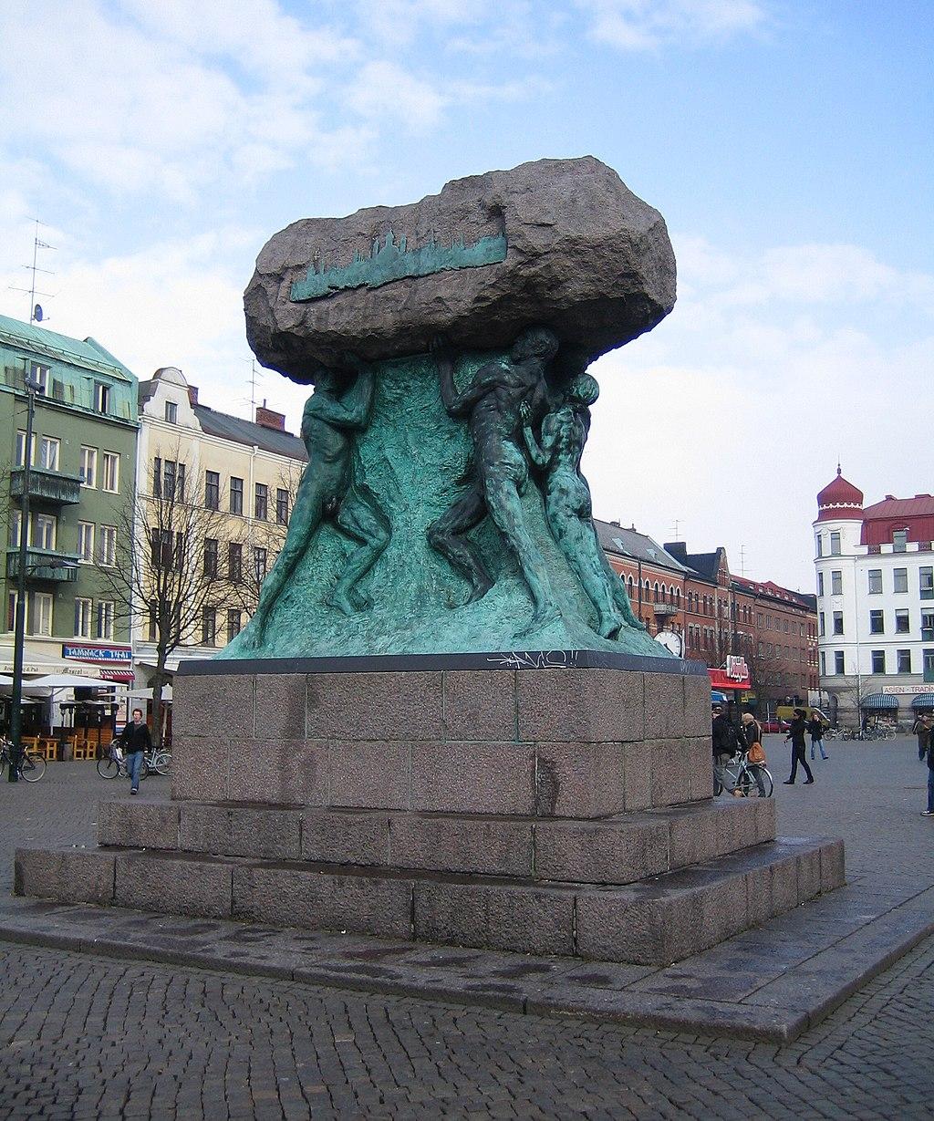 Arbetets ära, Möllevångstorget