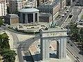Arco de la Victoria, Arco del Triunfo, Ciudad Universitaria de Madrid.JPG