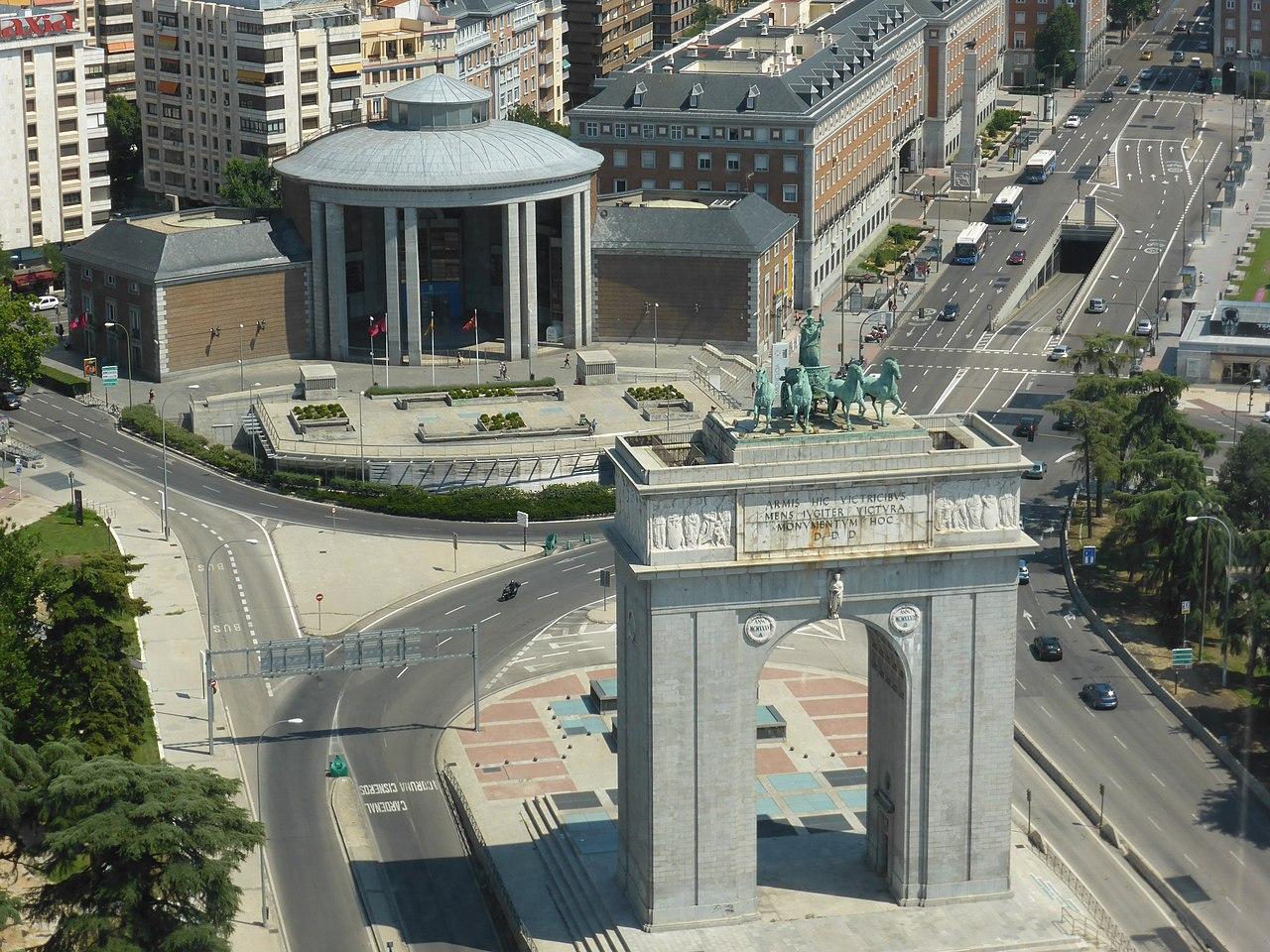 File Arco De La Victoria Arco Del Triunfo Ciudad Universitaria De