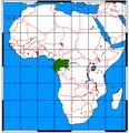 Arctocebus aureus range map.png