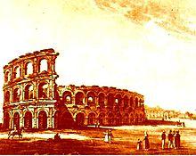 Incisione realizzata nel 1830 da autore sconosciuto
