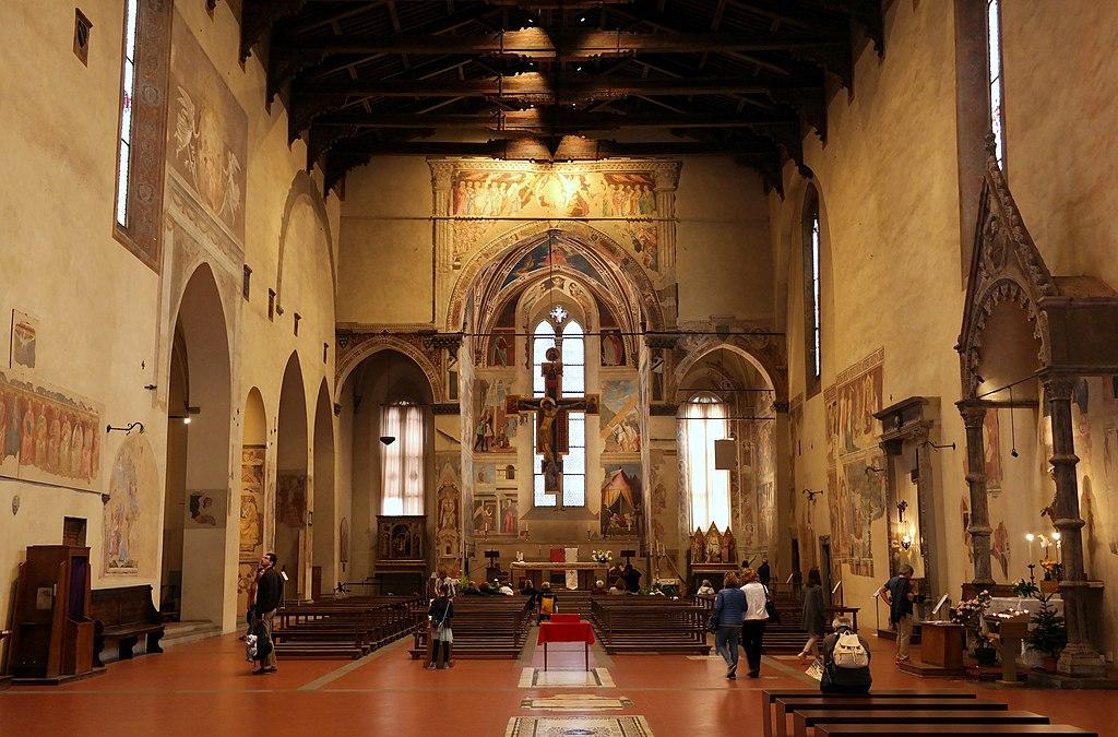 Arezzo - San Francesco, interno.jpg