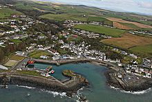 Dunskey Castle, Portpatrick, Scotland, ca. 1900 | 13117. Por… | Flickr