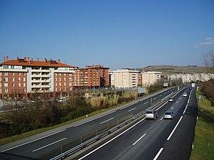 Autopista AP-8 - AP-8 in Zarauz.