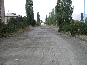 Armenia, Gagarin. Main road.jpg