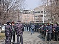 Armenian Presidential Elections 2008 Protest Day 11 - Riot police deployment south of Shahumyan Square.jpg