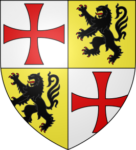 Armoiries Gérard de Ridefort.svg