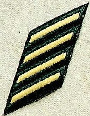 William Gainey - Image: Army Sstripe