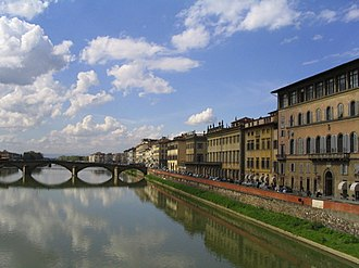 Water supply and sanitation in Italy - While most Italian cities receive water from wells and springs, some cities depend for their water supply on rivers  such as the Arno River that supplies Florence.