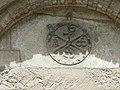 Arreau chapelle Saint-Exupère portail chrisme.JPG