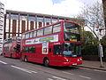 Arriva London DLA388 on Route 689, East Croydon Station (13968720841).jpg