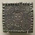 Arte provinciale romana, ornamento per cintura da napoli, fine IV-inizio V sec..JPG