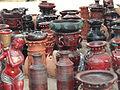 Artistic earthern pots..JPG