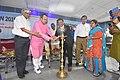 Arup Roy Lighting Inaugural Lamp - SPORTSMEDCON 2019 - SSKM Hospital - Kolkata 2019-03-17 3230.JPG