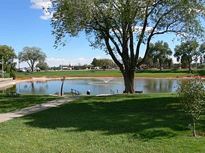 Ashley Pond, Innenstadt Los Alamos