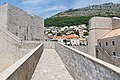Asimon Fortress in the Old Town of Dubrovnik, Croatia (48738648783).jpg