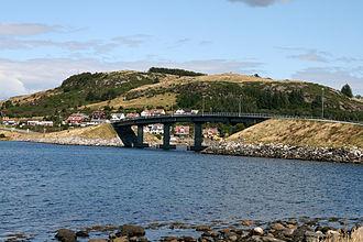 Rennesøy - View of the Askjesund Bridge in Rennesøy
